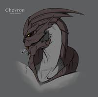 Chevron :: Turian by XxAlexaLancesterxX