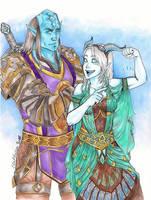 Neisuun and Vilaana by ChocolateIsForever