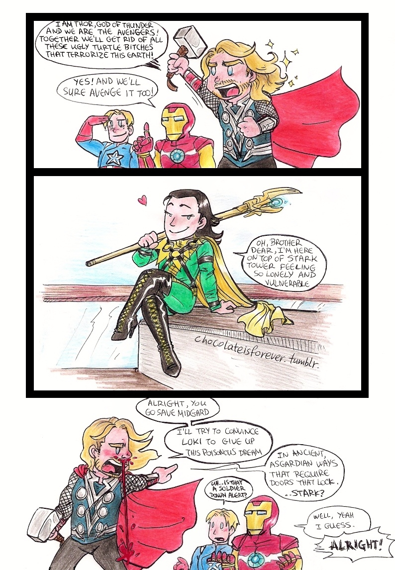 Avengers: What If by ChocolateIsForever on DeviantArt