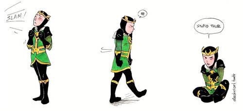 Loki: Grounded! by ChocolateIsForever