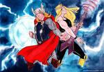 Thor -VS- Val Hallen