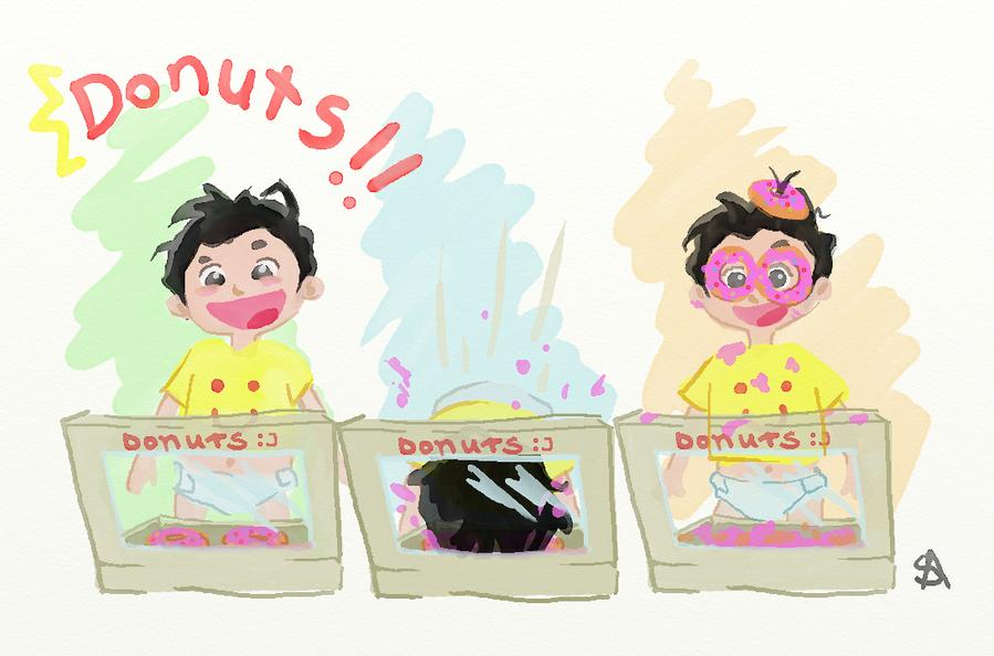 | Donuts! by Shianna-Art
