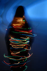 Spinning Lights by ashleerosaria