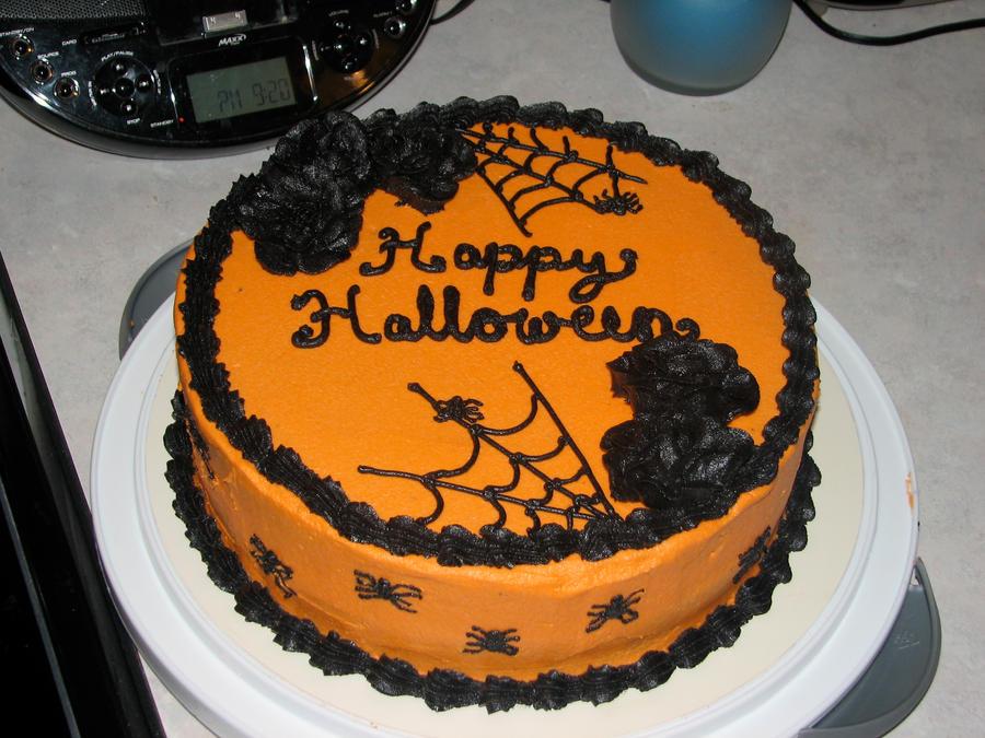 Easy Halloween Cake Decoration Ideas