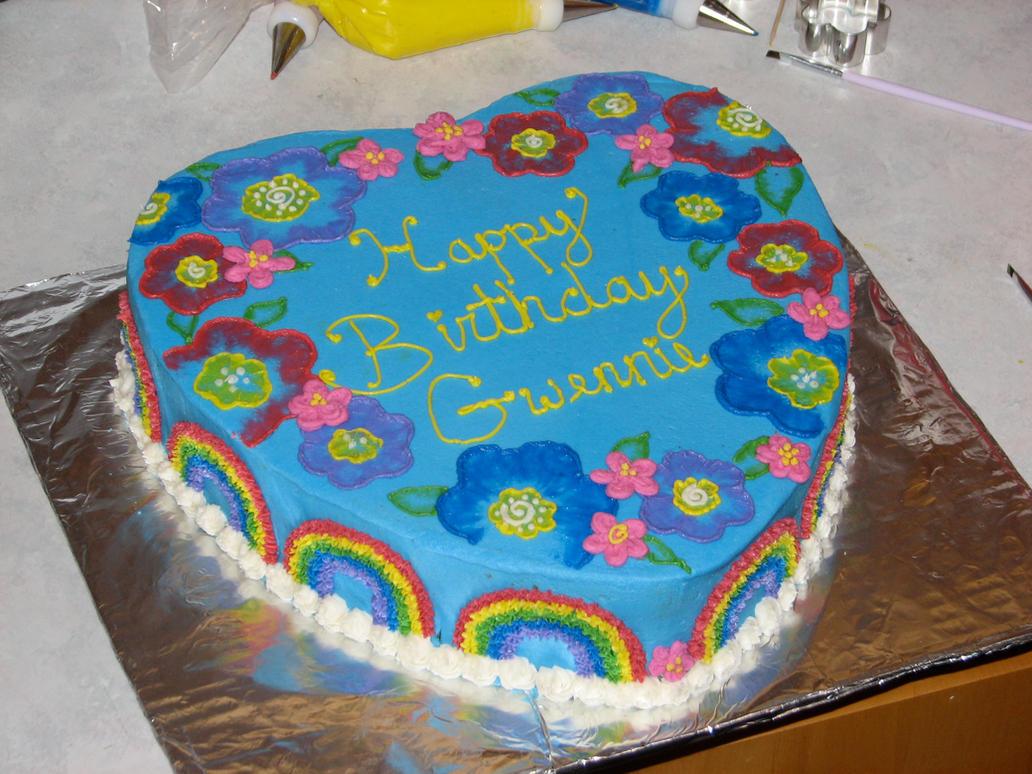 Gwens Birthday Cake by jennypenny001 on DeviantArt