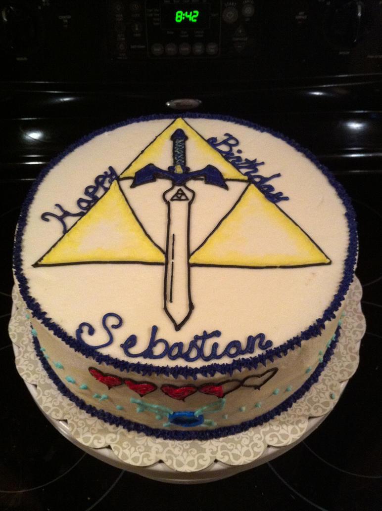 Zelda Birthday Cake by jennypenny001 on DeviantArt