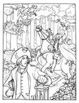 The Legend of Sleepy Hollow coloring page