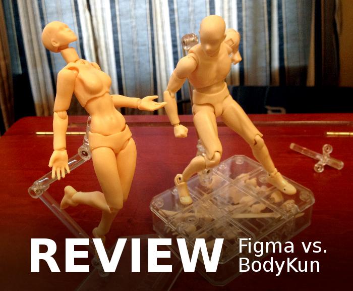 Figma vs. BodyKun review by TheBrassGlass