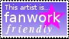 I am fanwork friendly by TheBrassGlass