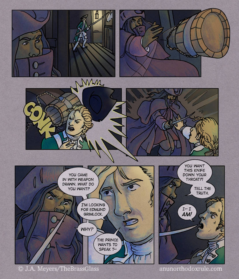 An Unorthodox Rule - Chapter 1, p. 2 by TheBrassGlass