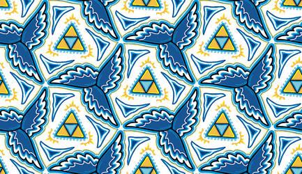 Zelda - tile wallpaper 1 by TheBrassGlass
