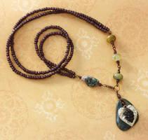 On the Grape Vine necklace
