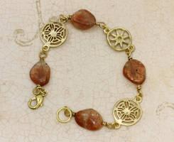 Sunstones bracelet