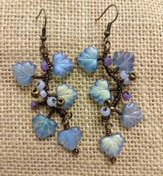 Magic Vine earrings