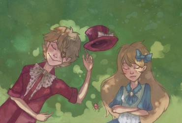 FC: Irvin i Alice - W poszukiwaniu motyli by deerheaded
