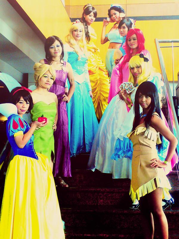 CF 2009: Disney Girls by tabeck