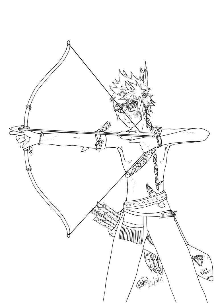 coloring pages cherokee indians - photo#8