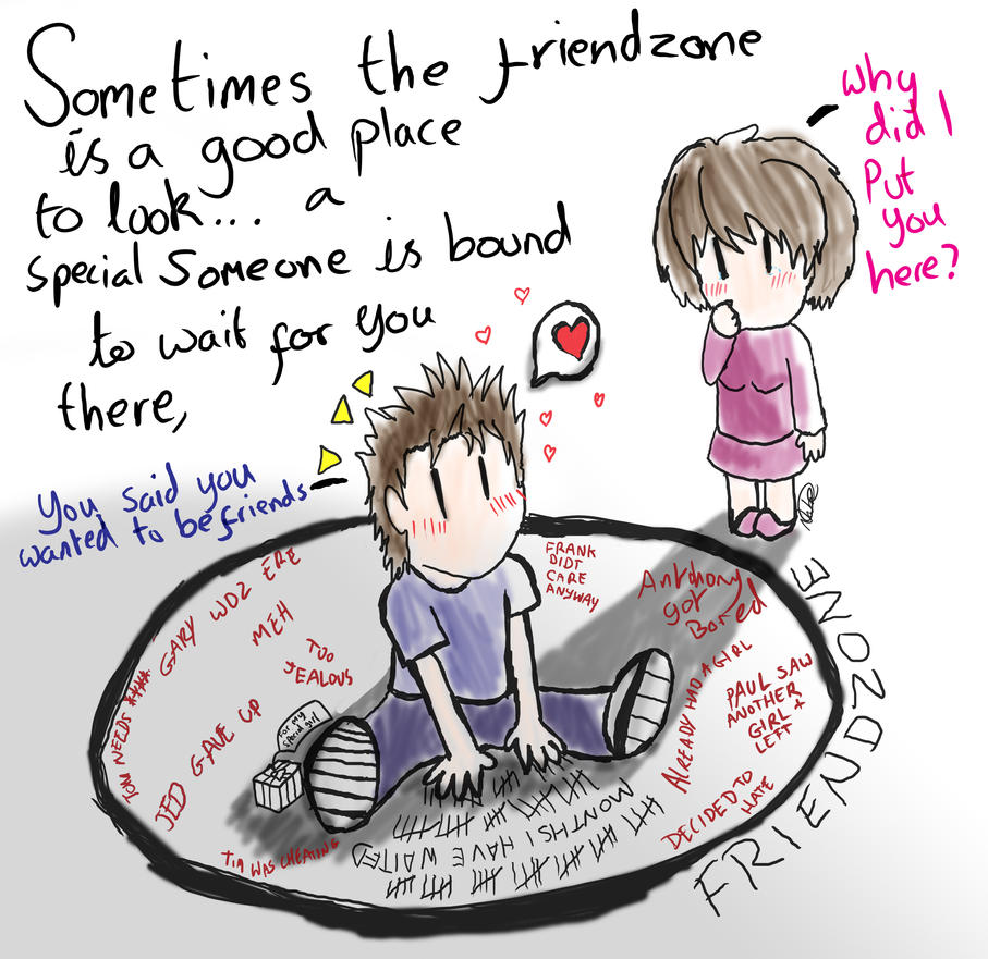 The Friend Zone By Natini On DeviantArt