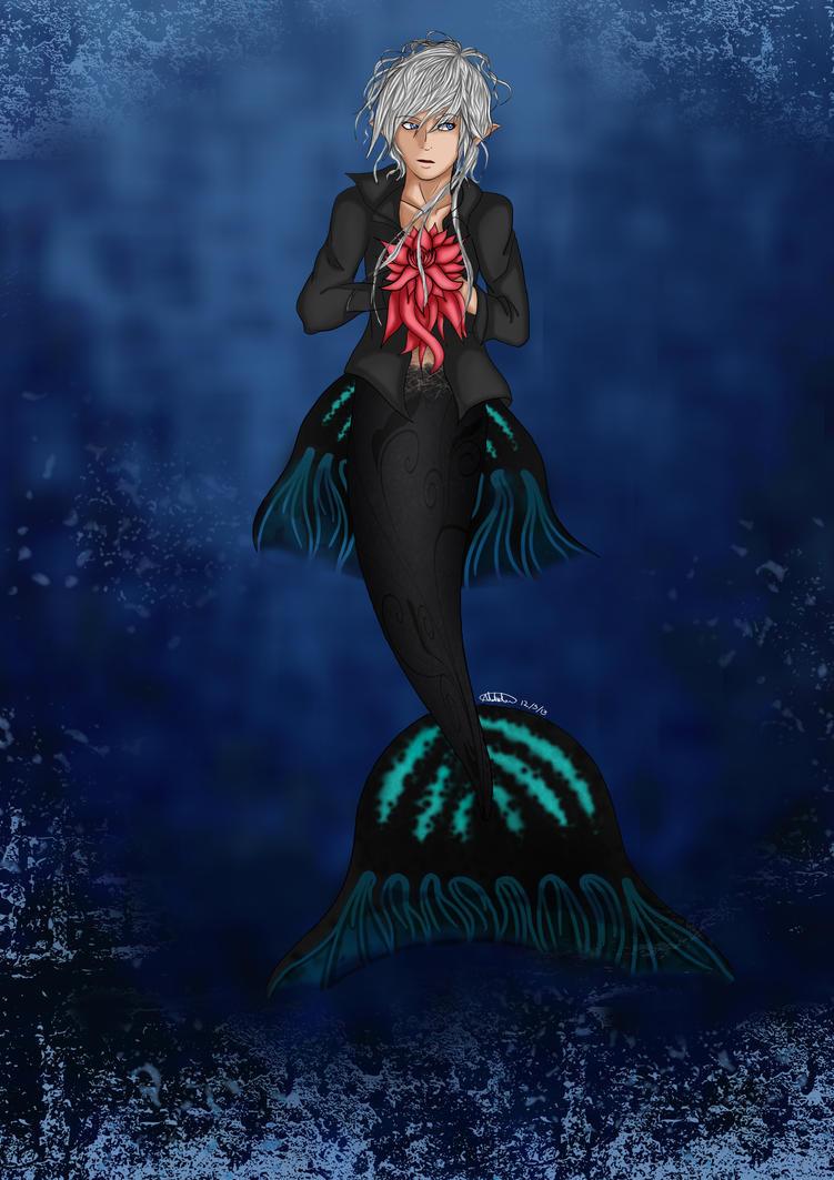 ****** SIRENAS ****** - Página 29 Gothic_mermaid_by_natini-d64zwf0