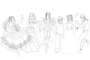 The Cast by Windk