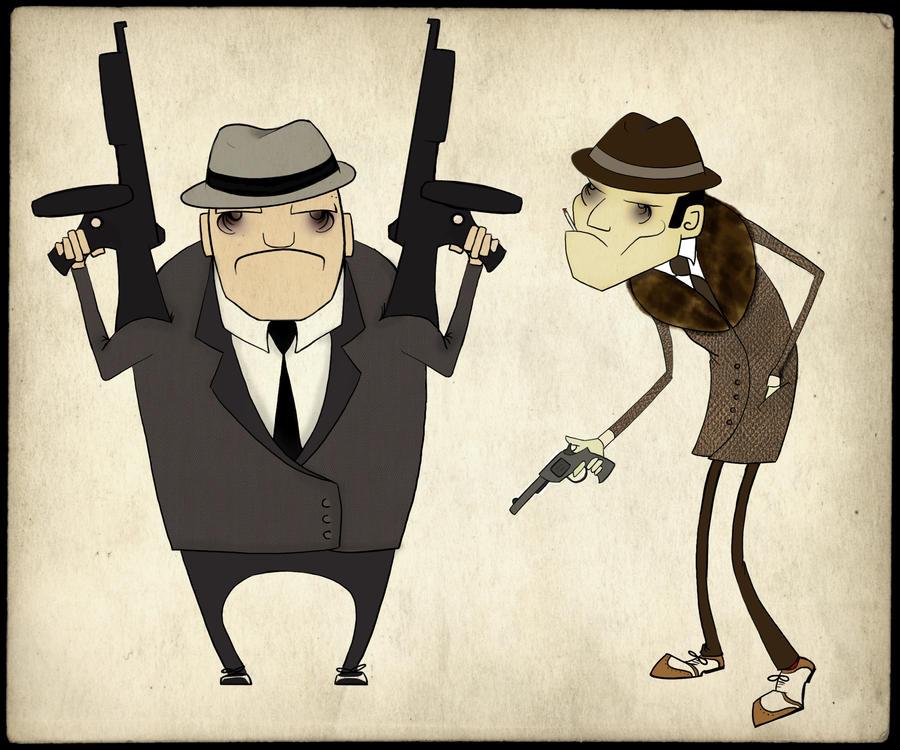 Gangstas by catherine-elizabeth