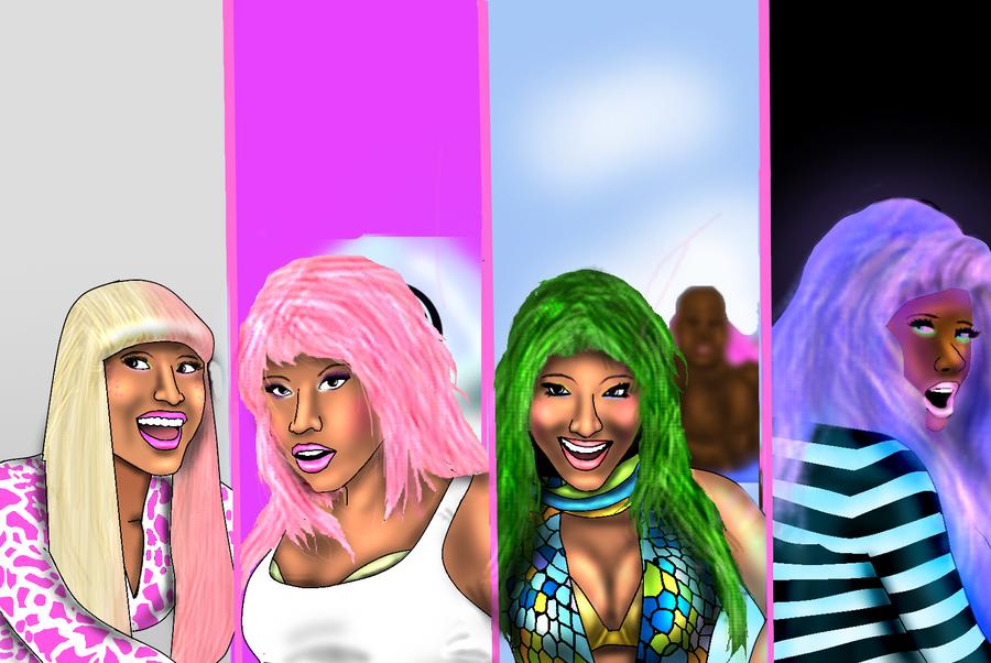 Nicki Minaj SUPER BASS by Ddog04