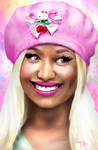 Nicki Minaj in the UK (Pink Outfit)