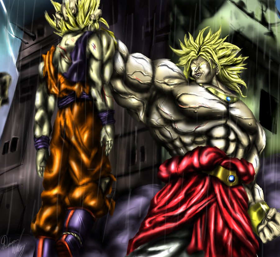 The Pros Of Cons Of Painting Vs Wallpapering: Die Kakarot! By Ddog04 On DeviantArt