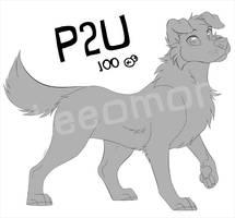 P2U Dog base by Leeomon