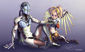 Busted Wires (Genji  x Mercy)