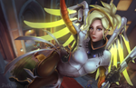 Mercy Splash Art - Overwatch