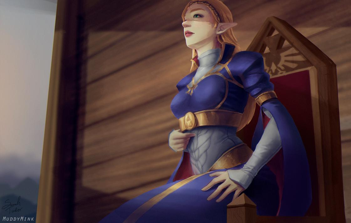 Trial by Sword - Zelda Breath of the Wild by MuddyMink
