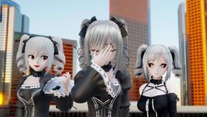 MMD Three Kanzaki Ranko