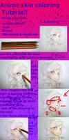 Anime Skin Coloring Tutorial