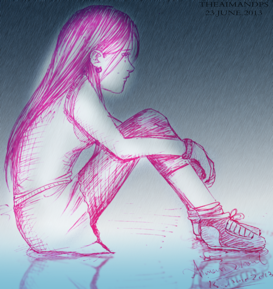 Alone In The Rain Alone in the rain by