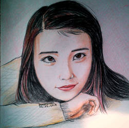 IU - Lee Ji Eun by THEAIMANDPS