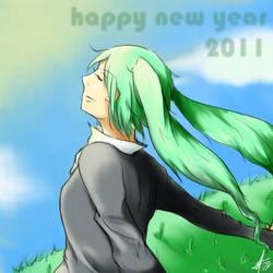 happy new year 2011 by sachixakechi
