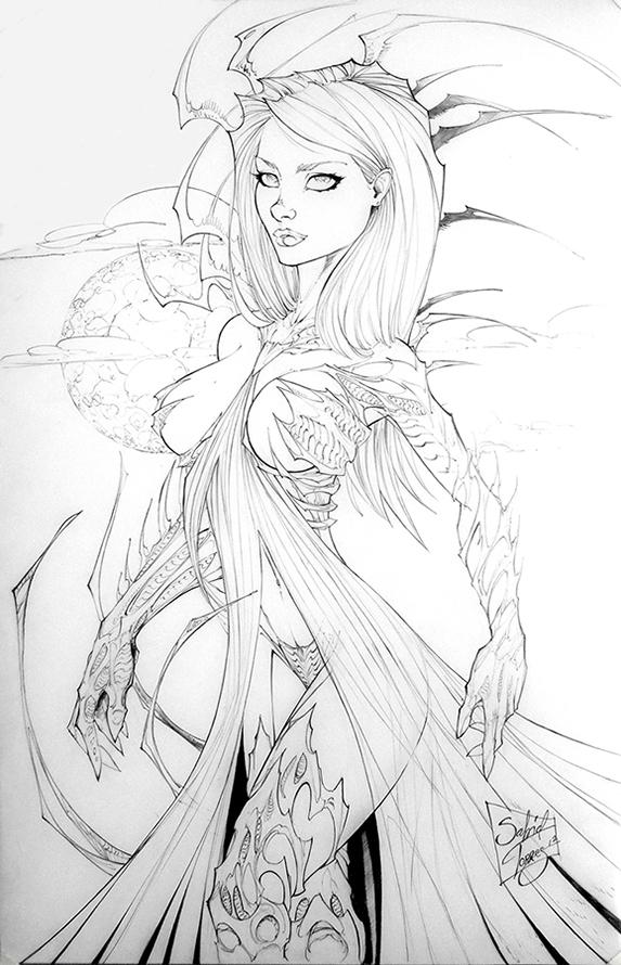 Witchblade by Al-Sabid-Torres