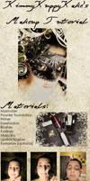 Makeup Tutorial by KimmyKuppyKake