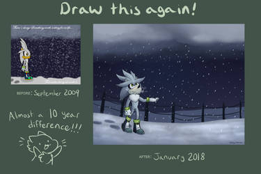 Draw This Again: Silver in the Snow! by Hedgermins