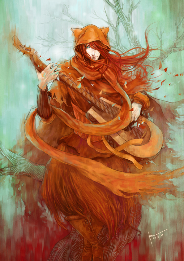 wandering minstrel by rynisyou