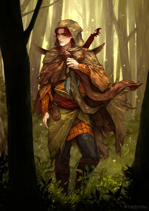 Kvothe (The Kingkiller Chronicle) by rynisyou