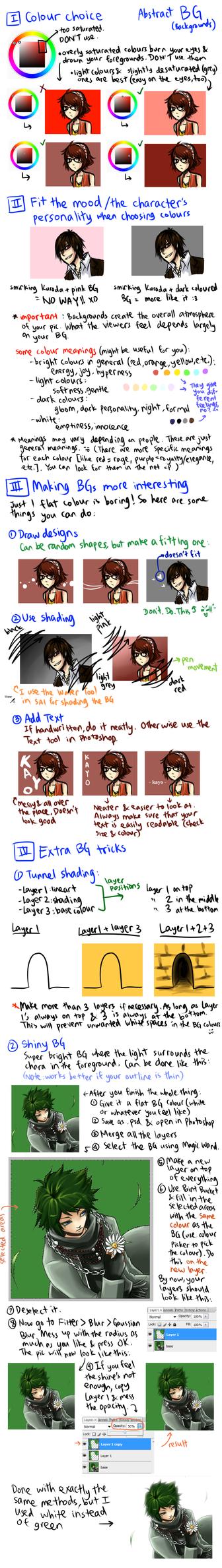 Abstract Background Tips by akai-shigo