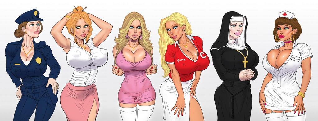 забавные порно рисунки