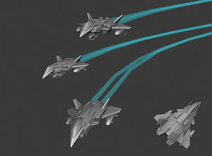 Space jet WIP