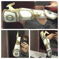 Arm armor Diablo III WIP