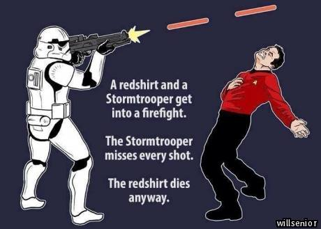 Star Wars vs. Star Trek by Apophiz
