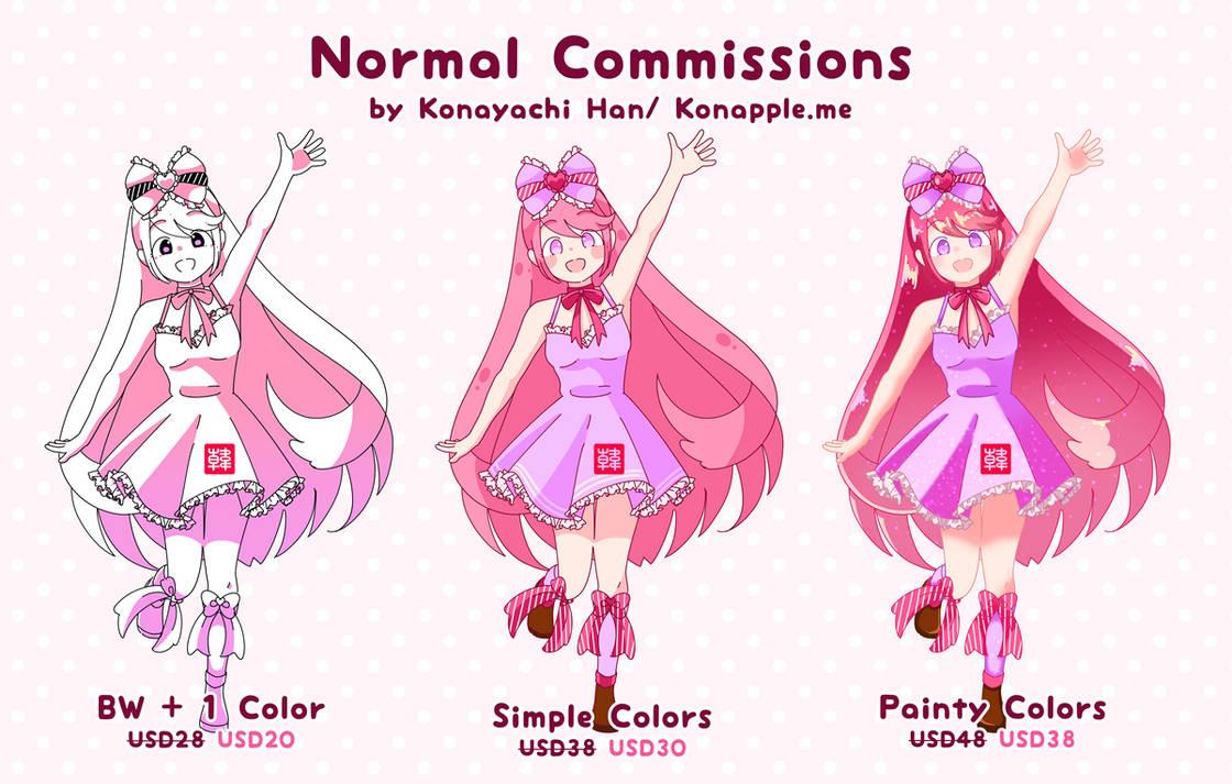 Sample Normal by konayachi