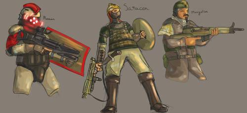 Nova Roma: soldiers
