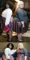 Two heavy women